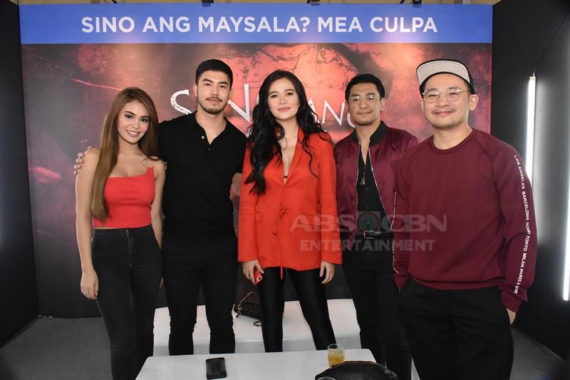 IN PHOTOS: Sino Ang Maysala? Mea Culpa stars at the ForeverKapamilya Trade Event